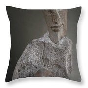 Sculpture In Stone Throw Pillow