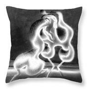 Sculpture Of Love Throw Pillow