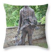 Sculpture Vincent Van Gogh - St Remy Throw Pillow