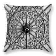 Sculptured Ceiling 1b Throw Pillow