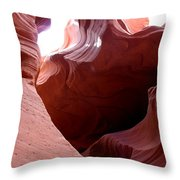 Sculptured Stone Throw Pillow