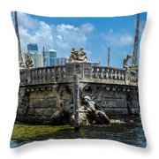 Sculptures By The Sea Throw Pillow