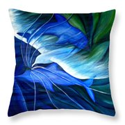Sea And Sky Throw Pillow