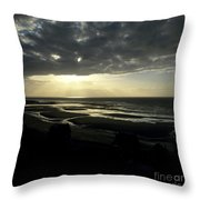 Sea And Stormy Sky Throw Pillow