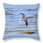 Sea Bird Throw Pillow