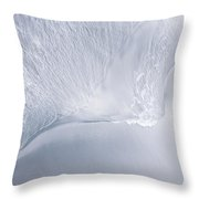 Sea Blue Water Abstract Throw Pillow