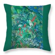Sea Coral Throw Pillow