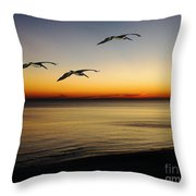 Sea Cruisers Throw Pillow