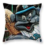 Sea Dogs Mascot Throw Pillow