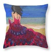 Sea-escape Throw Pillow
