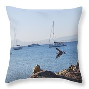 Sea Gull 2 Throw Pillow