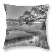 Sea Island Throw Pillow