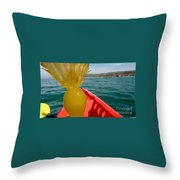 Sea Kayaking Find Throw Pillow