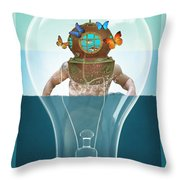 Sea Life  Throw Pillow