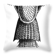 Sea Monk, Legendary Creature Throw Pillow