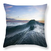 Sea Mountain Throw Pillow by Sean Davey