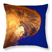 Sea Nettles V 2 Throw Pillow