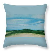 Sea Oat Dune 2 Throw Pillow