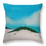 Sea Oat Dune 4 Throw Pillow