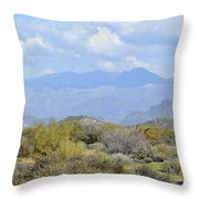 Sea Of Beauty Throw Pillow