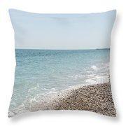 Sea Of Italy Throw Pillow