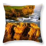 Sea Of Time Throw Pillow