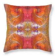 Sea Shell Of A Yogi Throw Pillow