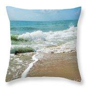 Seashore At Vero Beach Throw Pillow