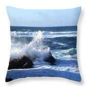 Sea Spray Throw Pillow