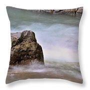 Sea Wave 3 Throw Pillow