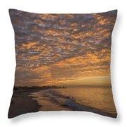 Seabright Sunrise Throw Pillow