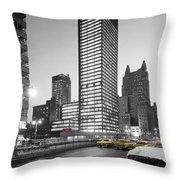 Seagram Building Throw Pillow
