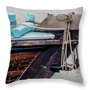 Seagul On A Dow's Bow Throw Pillow