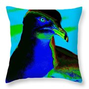 Seagull Art 2 Throw Pillow
