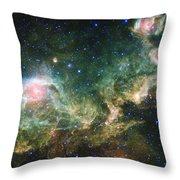 Seagull Nebula Throw Pillow