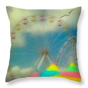 Seagull's Delight Throw Pillow
