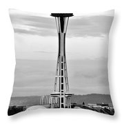 Seahawk Pride Throw Pillow by Benjamin Yeager