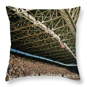 Seahawks Stadium 4 Throw Pillow