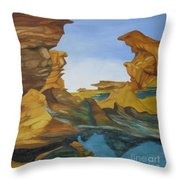 Seal Cove Throw Pillow
