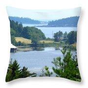 Seal Harbor Maine Throw Pillow