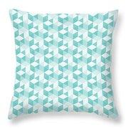 Seamless Pixel Pattern  Throw Pillow