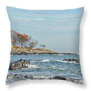 Seapoint Beach  Throw Pillow