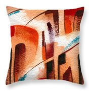 Search Of The Beginning Throw Pillow
