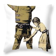 Searching A Minor Throw Pillow
