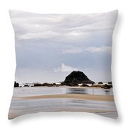 Searching For Treasures Throw Pillow