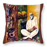 Searching For Truth Throw Pillow