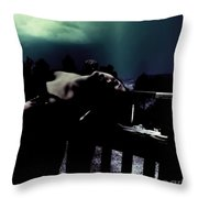 Searching For Vindication Throw Pillow