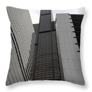 Sears Between Two Buildings Throw Pillow