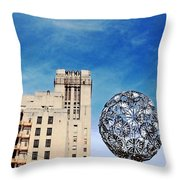 Sears Crosstown Memphis Throw Pillow