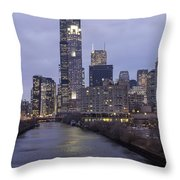 Sears Tower Or Willis Tower Throw Pillow